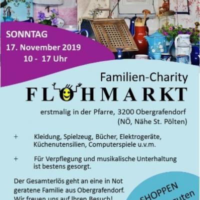 Familien Charity Flohmarkt 17.11.2019 - thumb