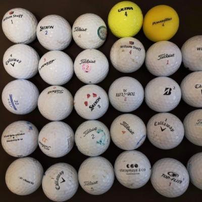 31 Stk verschiedene Golfbälle - thumb