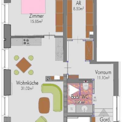 Wohnung/ Büro/ Praxis - thumb