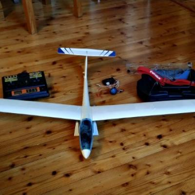 Segelflugmodell ASW27 - thumb