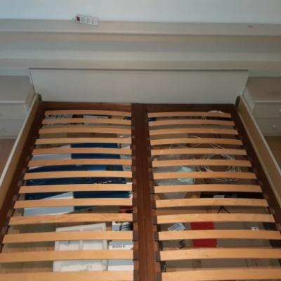 Doppelbett mit Kasten ab sofort zu haben - thumb