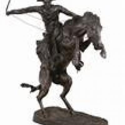 Bronzepferd von Frederic Remington - thumb