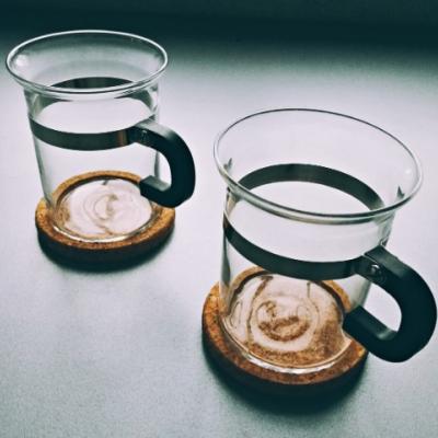 Bodum Teetassen aus Glas mit Untersetzer - thumb