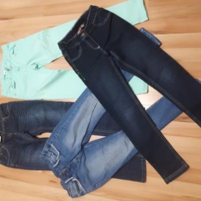 4 verschiedene Jeans - thumb