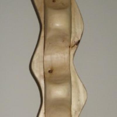 Holzskulptur, Holzsäule, Dekoration - thumb