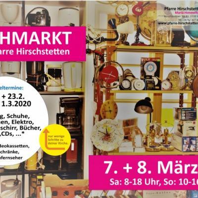 Flohmarkt der Pfarre Hirschstetten - thumb