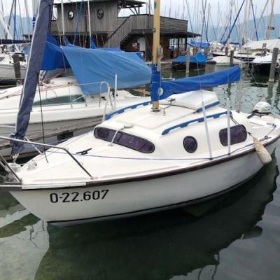 Segelboot Leisure 17, inkl. Hafentrailer - thumb