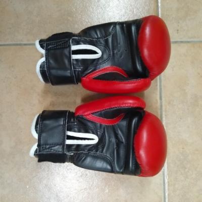 verkaufe Boxhandschuhe Marke TopTen Größe 8 - thumb