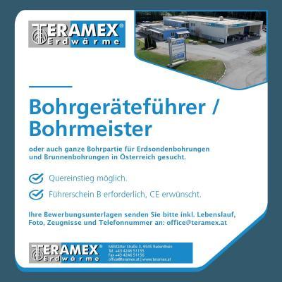 Bohrgeräteführer / Bohrmeister gesucht - thumb