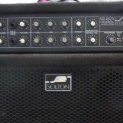 """Instrumenten - Verstärker """"Solton KB 60"""" 60 Watt - thumb"""