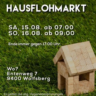 Großer Hausflohmarkt im Entenweg 7, 9400 Wolfsberg - thumb