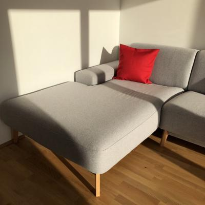 Hochwertiges Grüne Erde Sofa - thumb