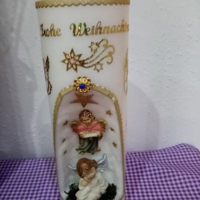 Weihnachtskerze - thumb