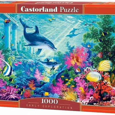 Castorland Puzzle C - 103515 – 2  Early Exploration 1000 Stück - thumb