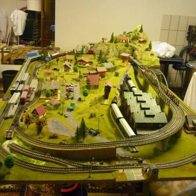 Modelleisenbahn HO Anlage - thumb