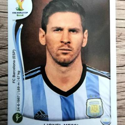 Paninisticker Lionel Messi - WM 2014 - Nr. 430 - thumb