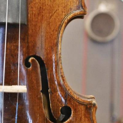 Alte feine Meistergeige 18th century - thumb