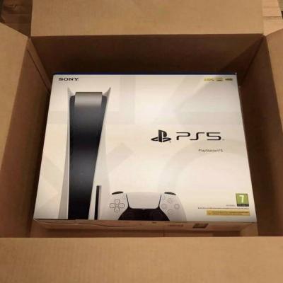 neue schwarze Sony Playstion 5 - 825GB - thumb