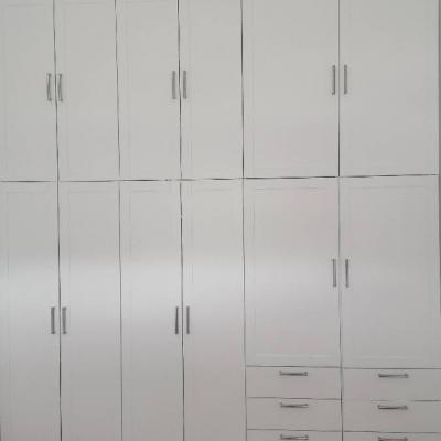 IKEA Schrankwand Platsa Korpus mit Sannidal Türen - thumb