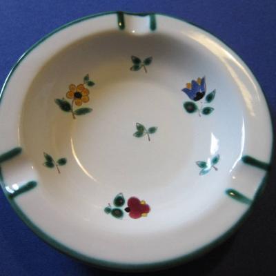 Gmundner Keramik - Aschenbecher - Streublumen Design - thumb