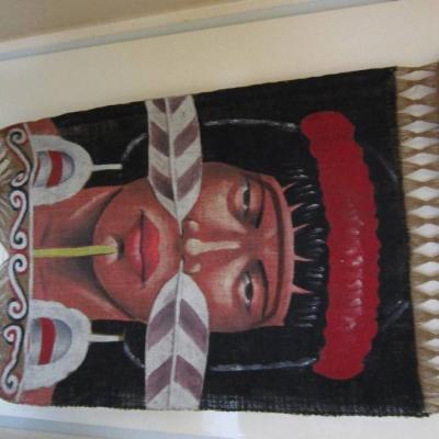 Altes Bild aus Papua Neuguinea - Rarität - siehe Foto - thumb