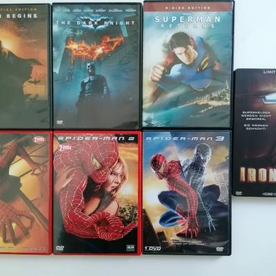 "DVD-Sammlung ""Superhelden"" - thumb"