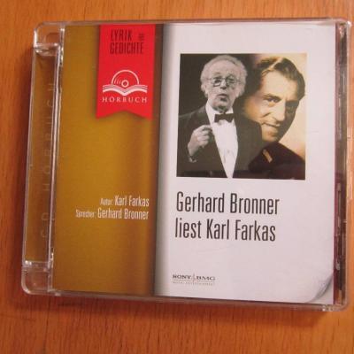 Gerhard Bronner liest Karl Farkas - Hörbuch CD - thumb