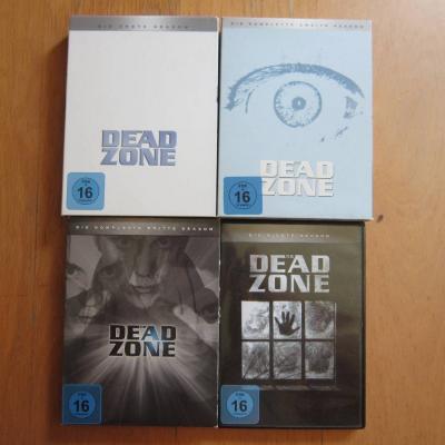 The Dead Zone - Staffel 1+2+3+4 - Dvd Boxen - thumb