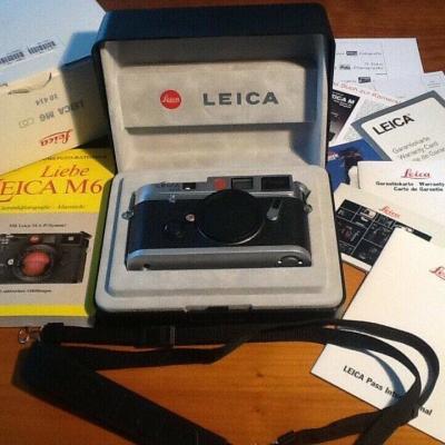 Leica M6 body im Originalkarton - thumb
