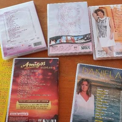 DVD Sammlung Amigos, Andreas Jürgens, Monika Martin, Daniela Alfinito - thumb