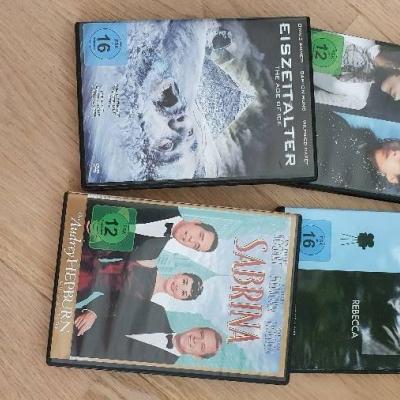DVD Sammlung Sabrina, Eiszeitalter, Rebecca, Anna Karenina - thumb