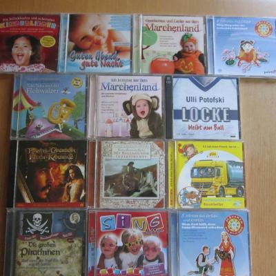 13 Stück - Kinder Märchen, Lieder, Hörbuch CD´s - Konvolut - thumb