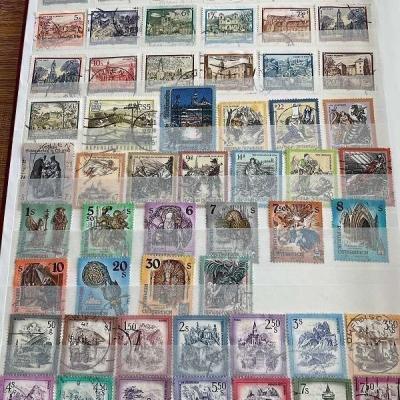Briefmarken Österreich über 500 Stück, gestempelt - thumb