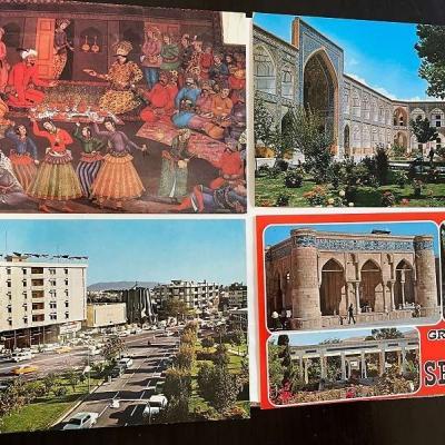 Alte iranische Postkarten vor 1979 - thumb