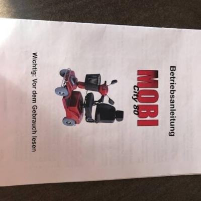 Mobi City 80 - Behindertenfahrzeug - thumb