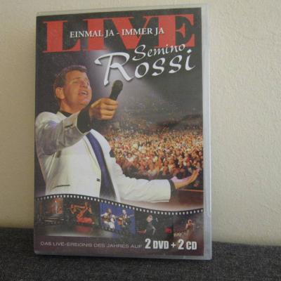 Semino Rossi - Live - Einmal Ja - Immer ja - 2 Dvd + 2 CD - thumb