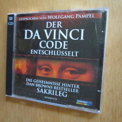 Der Davinci Code - Dan Brown -  Hörbuch -  2 Cd´s - thumb