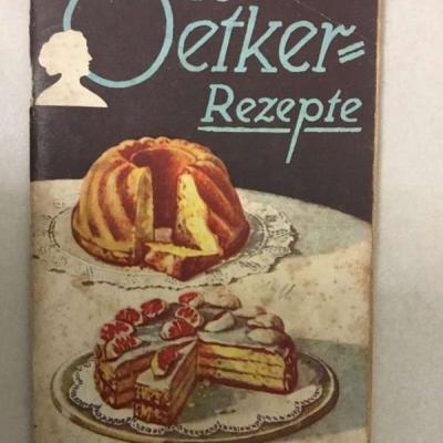 Dr. Oetker-Rezepte aus dem Jahr 1930 - thumb
