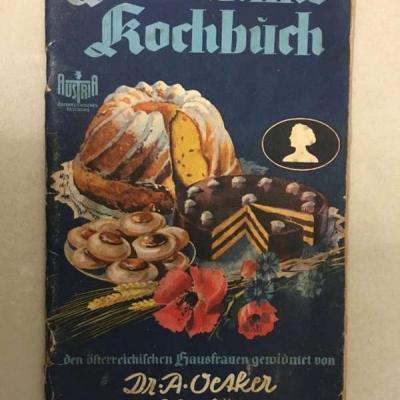 Dr. Oetker-Rezepte aus dem Jahr 1947 - thumb