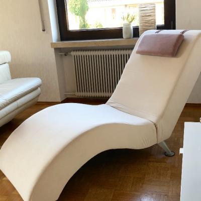 Relaxstuhl beige - thumb