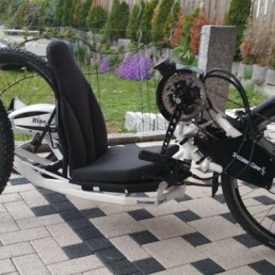 Speedbike Comp CC Ebike Handbike Praschberger - thumb