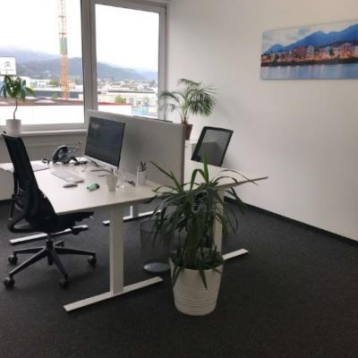 Helles 19m2 Büro in Innsbruck Roßau (All-in-Preis) - thumb
