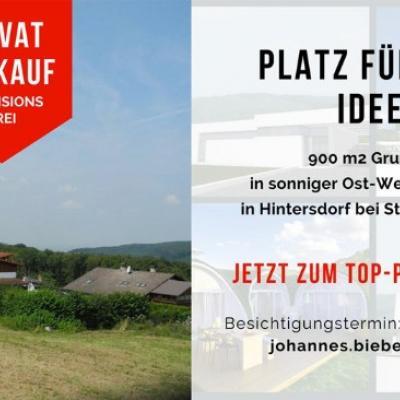 VON PRIVAT: Sonniger Baugrund Nähe Klosterneuburg - thumb