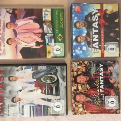 Fantasy-CD und DVD-Sammlung - thumb