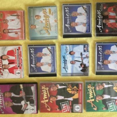 Amigos-CD und DVD-Sammlung - thumb
