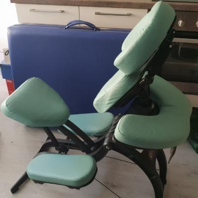 Massageliege und mobiler Massagesessel zu verkaufe - thumb