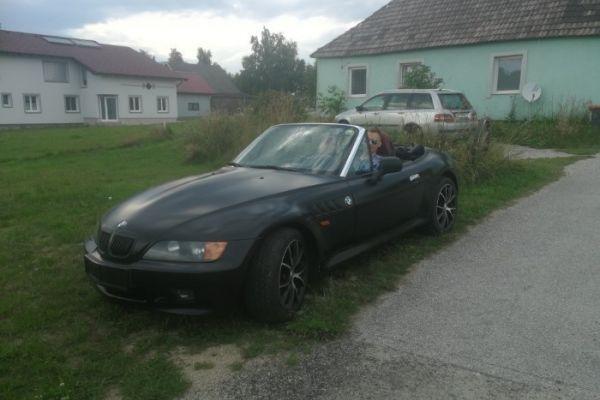 BMW Z3 mit Pickerl