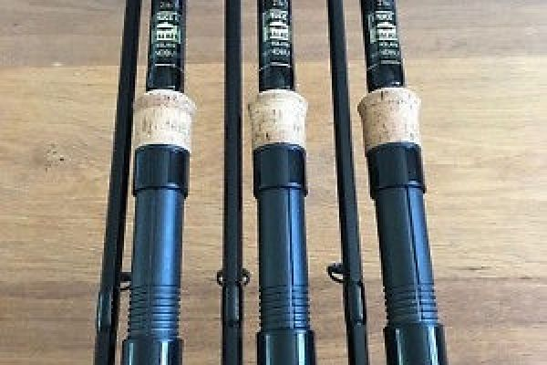 3 Bruce & Walker Hexagraph Carp Rod 12 ft 2 lb