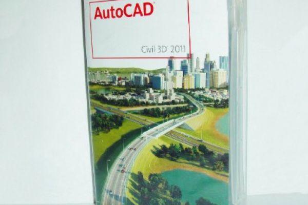 Autodesk AutoCAD Civil 3D 2011, DVD BOX Vollversio