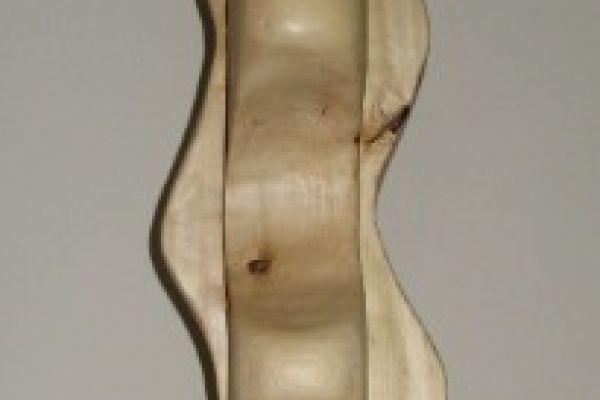 Holzskulptur, Holzsäule, Dekoration